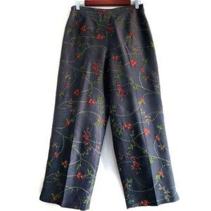 Silk Club Collection cropped pants